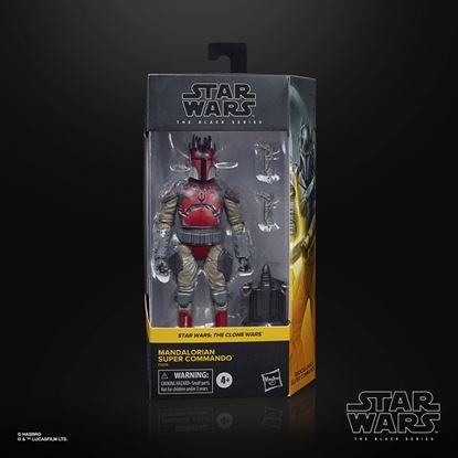 Picture of Star Wars The Clone Wars Black Series Figura 2020 Mandalorian Super Commando 15 cm