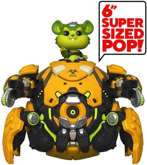 Picture of Overwatch Figura Super Sized POP! Vinyl Toxic Wrecking Ball 15 cm. DISPONIBLE APROX: FEBRERO 2021