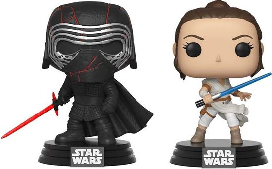 Picture of Star Wars Rise of Skywalker Pack de 2 POP! Vinyl Figuras Kylo & Rey 9 cm. DISPONIBLE APROX: FEBRERO 2021