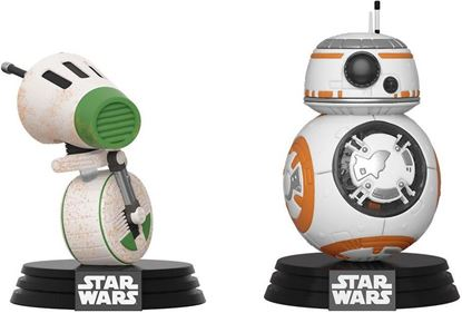 Picture of Star Wars Rise of Skywalker Pack de 2 POP! Vinyl Figuras D-O & BB-8 9 cm. DISPONIBLE APROX: FEBRERO 2021