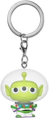 Picture of Toy Story Llavero Pocket POP! Vinyl Alien Remix Buzz (Glow) 4 cm. DISPONIBLE APROX: FEBRERO 2021