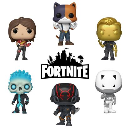 Picture of Pack 6 Figuras POP! Fortnite 9 cm. DISPONIBLE APROX: ENERO 2021