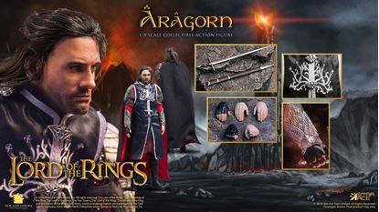 Picture of El Señor de los Anillos Figura Real Master Series 1/8 Aragorn 2.0 23 cm