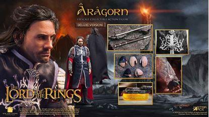 Picture of El Señor de los Anillos Figura Real Master Series 1/8 Aragorn Deluxe Version 23 cm