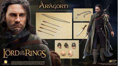 Picture of El Señor de los Anillos Figura Real Master Series 1/8 Aragorn Special Version 23 cm