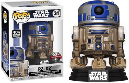 Picture of Star Wars POP! Movies Vinyl Figura Dagobah R2-D2 Special Edition 9 cm