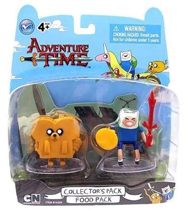 Picture of Blíster de 2 Figuras Hora de Aventuras Jake y Finn Food Pack