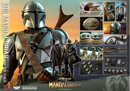 Picture of Star Wars The Mandalorian Pack de 2 Figuras 1/4 The Mandalorian & The Child 46 cm RESERVA