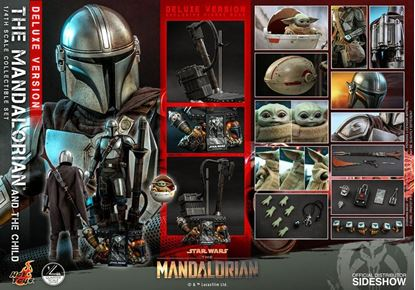 Picture of Star Wars The Mandalorian Pack de 2 Figuras 1/4 The Mandalorian & The Child Deluxe 46 cm