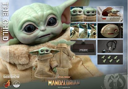 Picture of Star Wars The Mandalorian Figura 1/4 The Child 9 cm