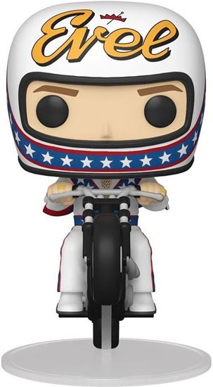 Picture of Evel Knievel POP! Rides Vinyl Figura Evel Knievel on Motorcycle 18 cm. DISPONIBLE APROX: ABRIL 2021