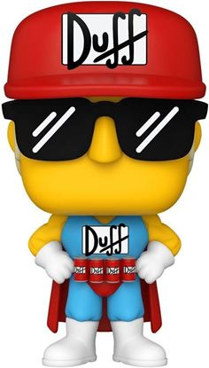 Picture of Los Simpson Figura POP! Animation Vinyl Duffman 9 cm