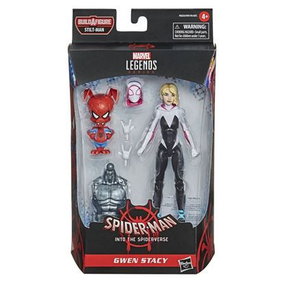 Picture of Marvel Legends Series Figuras 15 cm Spider-Man 2021 Wave 1  Gwen Stacy (Spider-Man: Into the Spider-Verse)