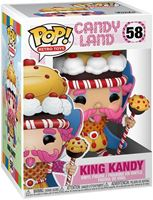 Picture of Candy Land Figura POP! Vinyl King Kandy 9 cm. DISPONIBLE APROX: ABRIL 2021