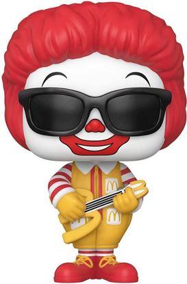 Picture of McDonald's Figura POP! Ad Icons Vinyl Rock Out Ronald McDonald 9 cm. DISPONIBLE APROX: ABRIL 2021