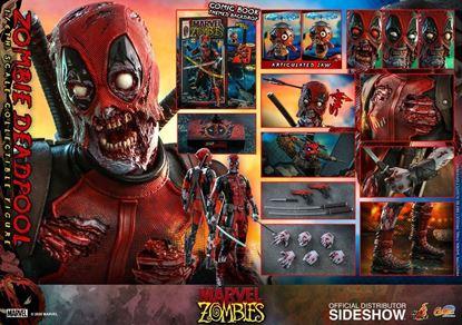 Picture of Marvel Zombies Comic Masterpiece Figura 1/6 Zombie Deadpool 31 cm