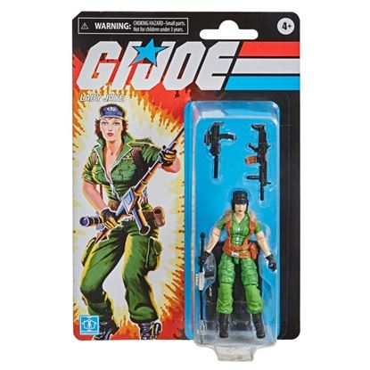 Picture of G.I. Joe Retro Collection Series Figuras 10 cm 2021 Wave 1 LADY JAYE