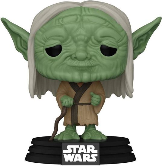 Picture of Star Wars Concept POP! Star Wars Vinyl Figura Yoda Concept Series 9 cm