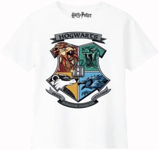Picture of Camiseta Hogwarts Niña Talla 12 años - Harry Potter