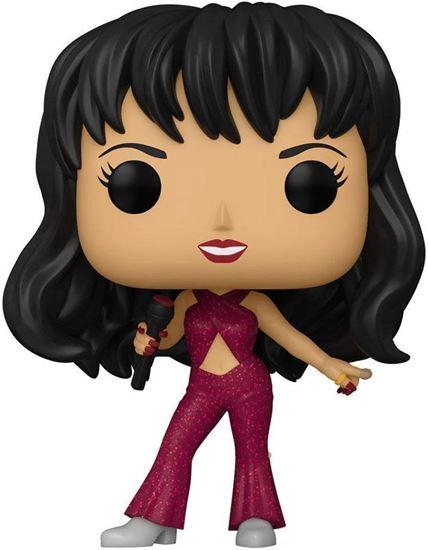 Picture of Selena POP! Rocks Vinyl Figura Selena (Burgundy Outfit) 9 cm