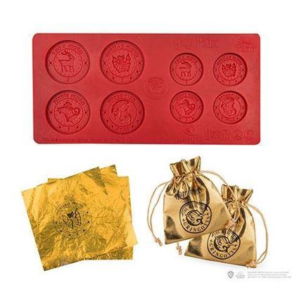 Picture of Molde de Monedas de Chocolate Gringotts Bank - Harry Potter