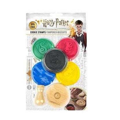 Picture of Lote de 5 moldes de silicona para galletas - Harry Potter