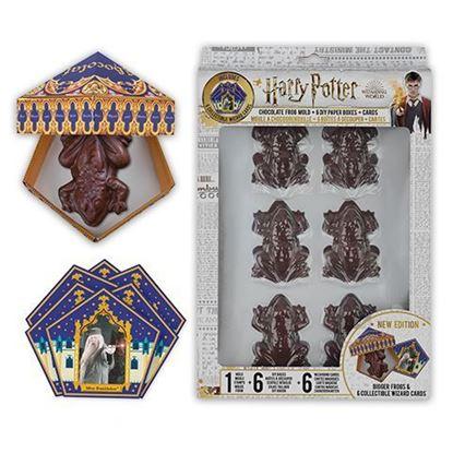 Picture of Molde de Chocoranas + 6 cajas de envoltura + 12 cartas de mago - Harry Potter