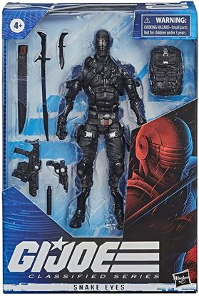 Picture of G.I. Joe Classified Series Figuras 15 cm 2020 Wave 1 Snake Eyes