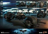 Picture of Batman The Dark Knight Rises Vehículo Movie Masterpiece 1/6 Bat-Pod 59 cm RESERVA