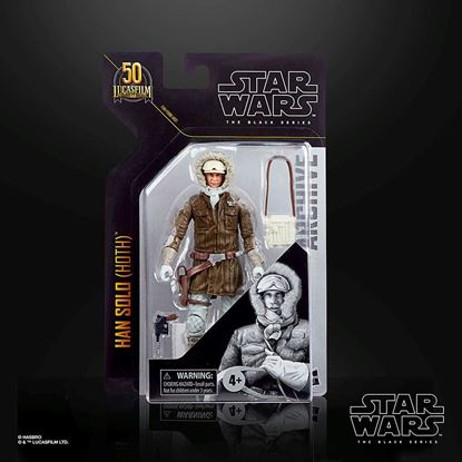 Picture of STAR WARS GREATEST HITS BLACK SERIES FIGURA 15 CM  HAN SOLO HOTH