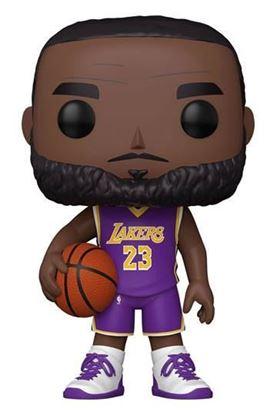 Picture of NBA Figura Super Sized POP! Vinyl LeBron James (Purple Jersey) 25 cm