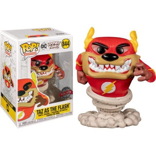 Picture of Funko Pop Looney Tunes 844 DC Taz as Flash