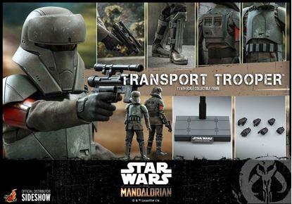 Picture of Star Wars The Mandalorian Figura 1/6 Transport Trooper 31 cm RESERVA