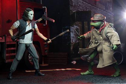 Picture of Tortugas Ninja Pack de 2 Figuras Casey Jones & Raphael in Disguise 18 cm
