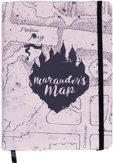 Picture of Libreta Mapa del Merodeador - Harry Potter