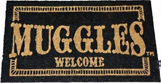 Picture of Felpudo Muggles Welcome 43 x 72 cm - Harry Potter