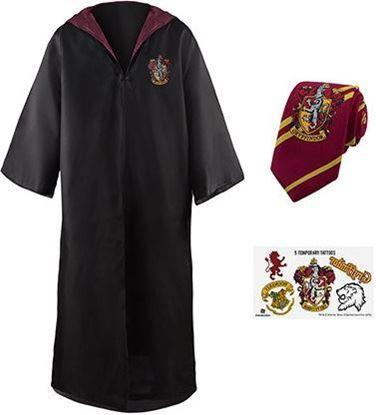 Picture of Set Túnica, Corbata y Tatuajes Temporales Gryffindor Talla L - Harry Potter