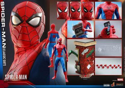 Picture of Marvel's Spider-Man Figura Video Game Masterpiece 1/6 Spider-Man (Classic Suit) 30 cm RESERVA