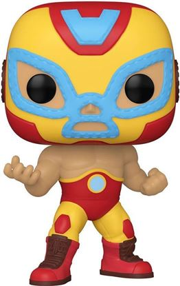 Picture of Marvel Luchadores Figura POP! Vinyl Iron Man (El Héroe Invicto) 9 cm. DISPONIBLE APROX: MARZO 2021