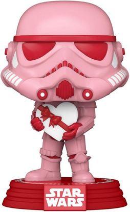 Picture of Star Wars Valentines POP! Star Wars Vinyl Figura Stormtrooper w/Heart 9 cm.