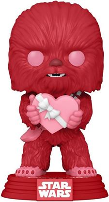 Picture of Star Wars Valentines POP! Star Wars Vinyl Figura Cupid Chewbacca 9 cm.