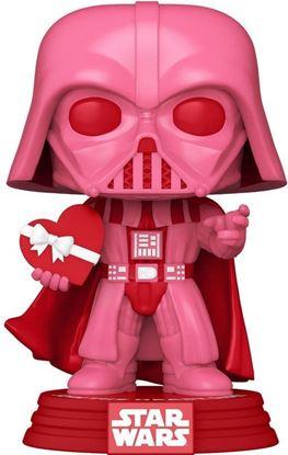 Picture of Star Wars Valentines POP! Star Wars Vinyl Figura Vader w/Heart 9 cm.