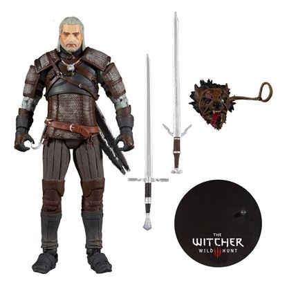 Picture of The Witcher Figura Geralt 18 cm