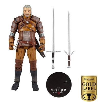 Picture of The Witcher Figura Geralt of Rivia Gold Label Series 18 cm