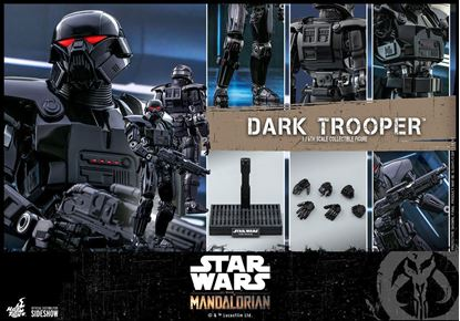 Picture of Star Wars The Mandalorian Figura 1/6 Dark Trooper 32 cm