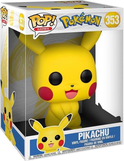 Picture of Pokemon Figura Super Sized POP! Games Vinyl Pikachu 25 cm