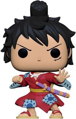 Picture of One Piece POP! Television Vinyl Figura Luffy in Kimono 9 cm.