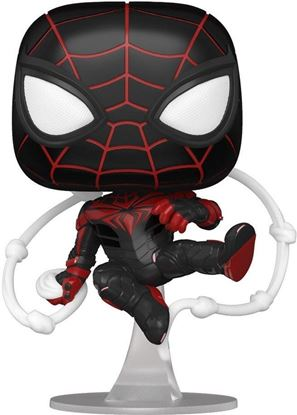 Picture of Marvel's Spider-Man POP! Games Vinyl Figura Miles Morales Advanced Tech Suit 9 cm