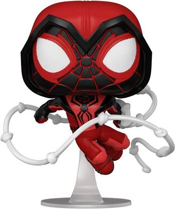Picture of Marvel's Spider-Man POP! Games Vinyl Figura Miles Morales Red Suit 9 cm. DISPONIBLE APROX: JUNIO 2021