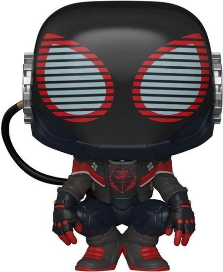 Picture of Marvel's Spider-Man POP! Games Vinyl Figura Miles Morales 2020 Suit 9 cm